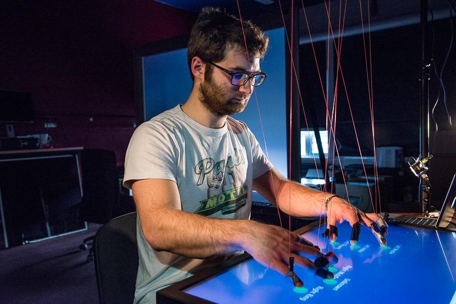 Photographies sur les recherches en informatique et robotique de l'INRIA à Lille