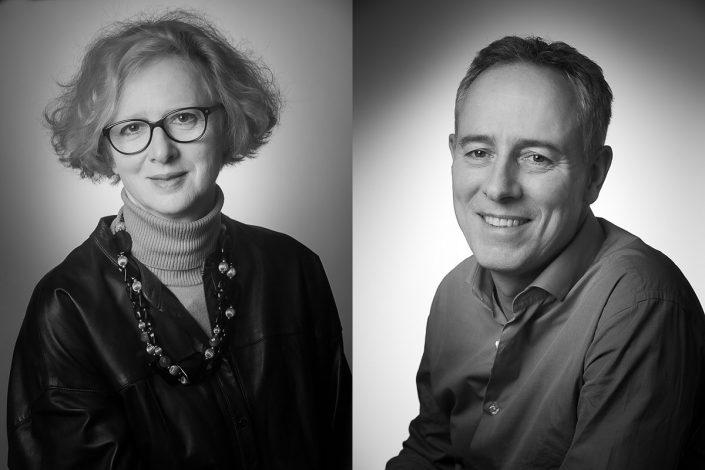 Portraits corporate pour le Groupe Claire