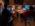"""Reportage photographique """"la tête dans les étoiles"""". Nuit d'observation dans la salle de contrôle du téléscope."""