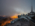 """Reportage photographique """"La tête dans les étoiles"""". Observatoire du Pic du Midi.  Le soir des nuages envahissent le ciel compromettant les observations."""