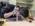 """Reportage photographique """"La tête dans les étoiles"""".  Ecole Normale Supérieure. David Darson démonte sa caméra pour installer le nouveau système de refroidissement, cryocooler, sur le capteur. Avant cela, il """"casse"""" le vide d'air dans l'enceinte du capteur: Il laisse pénétrer l'air doucement, """"à l'oreille"""", pour égaliser progressivement la pression à l'extérieur et à l'intérieur de l'enceinte. Ensuite, il pourra procéder au démontage"""