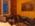 """Reportage photographique """"la tête dans les étoiles"""". Alors que l'aube pointe et que la caméra acquière les dernières images de Saturne, David Darson, épuisé par sa nuit de veille, se repose dans le canapé de la cuisine."""