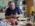 """Reportage photographique """"la tête dans les étoiles"""". François Colas profite d'un temps mort en matinée pour cuisiner une tarte au pomme."""