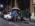 """Reportage photographique """"La tête dans les étoiles"""".  David et Darson et François Colas, très tôt le matin devant le départment de physique de l'ENS, chargent les équipements avant de prendre la route pour le Pic du Midi."""