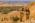Arabie Saoudite. Madâin Sâlih. Mission archéologique franco-saoudienne sur le site de l'antique cité nabatéenne de Hégra.  Vue sur les tombeaux monumentaux dit Qasr al-Bint. Au fond le massif du Héjaz.