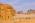 Arabie Saoudite. Madâin Sâlih. Mission archéologique franco-saoudienne sur le site de l'antique cité nabatéenne de Hégra. Tombeaux monumentaux dit Jabal al-Ahmar. En arrière plan, le Jabal Ithlib, la montagne sacrée des Nabatéens.