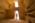Arabie Saoudite. Madâin Sâlih. L'antique cité nabatéenne de Hégra. Massif dit Qasr al-Bint. Intérieur d'un tombeau monumental avec ses caissons creusés dans le grès servant à inhumer les défunts.