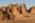 Arabie Saoudite. Madâin Sâlih. Mission archéologique franco-saoudienne sur le site de l'antique cité nabatéenne de Hégra.  Vue sur les tombeaux monumentaux du Jabal al Ahmar.