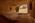 Arabie Saoudite. Madâin Sâlih. Mission archéologique franco-saoudienne dans l'antique cité nabatéenne de Hégra. Salle de banquet taillé dans un bloc de grès devant la montagne sacrée des Nabatéens, le Jabal Ithlib. Il a été découvert par Laila Nehmé alors que le bloc était partiellement enfoui par le sable.