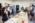 ENS. Département de physique. Laboratoire de physique théorique de  Aleksandra Walczak. Andréas Mayer soutient sa thèse en biophysique devant le jury , ses camarades et sa famille.  Andréas fête son doctorat, en présence des membres du jury, de sa famille et de ses amis.
