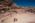L'antique cité nabatéenne de Pétra. Bédouins devant l'antique théatre