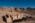 L'antique cité nabatéenne de Pétra. Temple fouillé et partiellement restauré par les archéologue de la Brown University (USA) et au fond le Quasr al Bint  fouillé et restauré par la mission archéologique française de l'IFPO (Institut Français du Proche Orient)