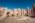 L'antique cité nabatéenne de Pétra. Travaux de préservation du temple aux lions ailées  gràce à des moyens de l'économie locale et des bédouins habitant aux alentours sous la direction de l'archéologue Christopher A Tuttle (American Center of Oriental Research)