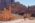 L'antique cité nabatéenne de Pétra. La voie à colonnade d'époque romaine