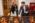 """FR:Mondomusica New York : Test """"Stradivari vs. the Modern Violin"""". Claudia Fritz Chargée de recherche au CNRS coordonne le test. Sélection des violons. Ici elle est avec un violoniste portant des lunettes qui l'empêchent de reconnaitre les violons. Sélection des violons la veille du test. EN: Mondomusica New York:""""Stradivari vs. the Modern Violin """"test . Claudia Fritz (Researcher at the CNRS in musical acoustics) coordinating the tests. Selection of the violins the day before the test. Here she is with a volionist wearing glasses that prevent him from recognizing the violin."""