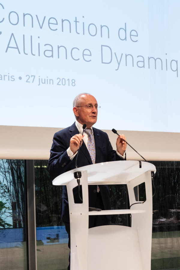 """Reportage photographique évènementiel sur la Convention  """"l'Alliance Dynamique """" du groupe La Poste. Philippe Wahl, PDG du groupe La Poste"""