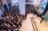 Photographie du président de La Poste Philippe Wahl devant les Postiers et en présence du ministre de l'industrie,  Christophe Sirugue, lors de la cérémonie des voeux 2017 au siège de La Poste
