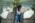 Aéroport Charles de Gaulle. Préparation d'un Concorde avant un vol par des employées de Servair.  Charles-de-Gaulle Airport, France. Technician from Servair, preparing Concorde for flight.
