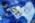 Aéroport Charles de Gaulle. Zone de fret. douanier controlant un arrivage à la recherche de 'toxiques'.  Charles-de-Gaulle Airport, France. Freight Zone. Customs officer controlling freight, searching for toxic substances.