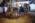 Aéroport Charles de Gaulle. Avion sorti de la piste et embourbé à cause du Verglas. Opérations de dégagement par une unité spécialisées d'Air France.   Charles-de-Gaulle Airport, France. A plane left the runway because of black ice, and became stuck in the mud. A specialist unit from Air France frees the plane.