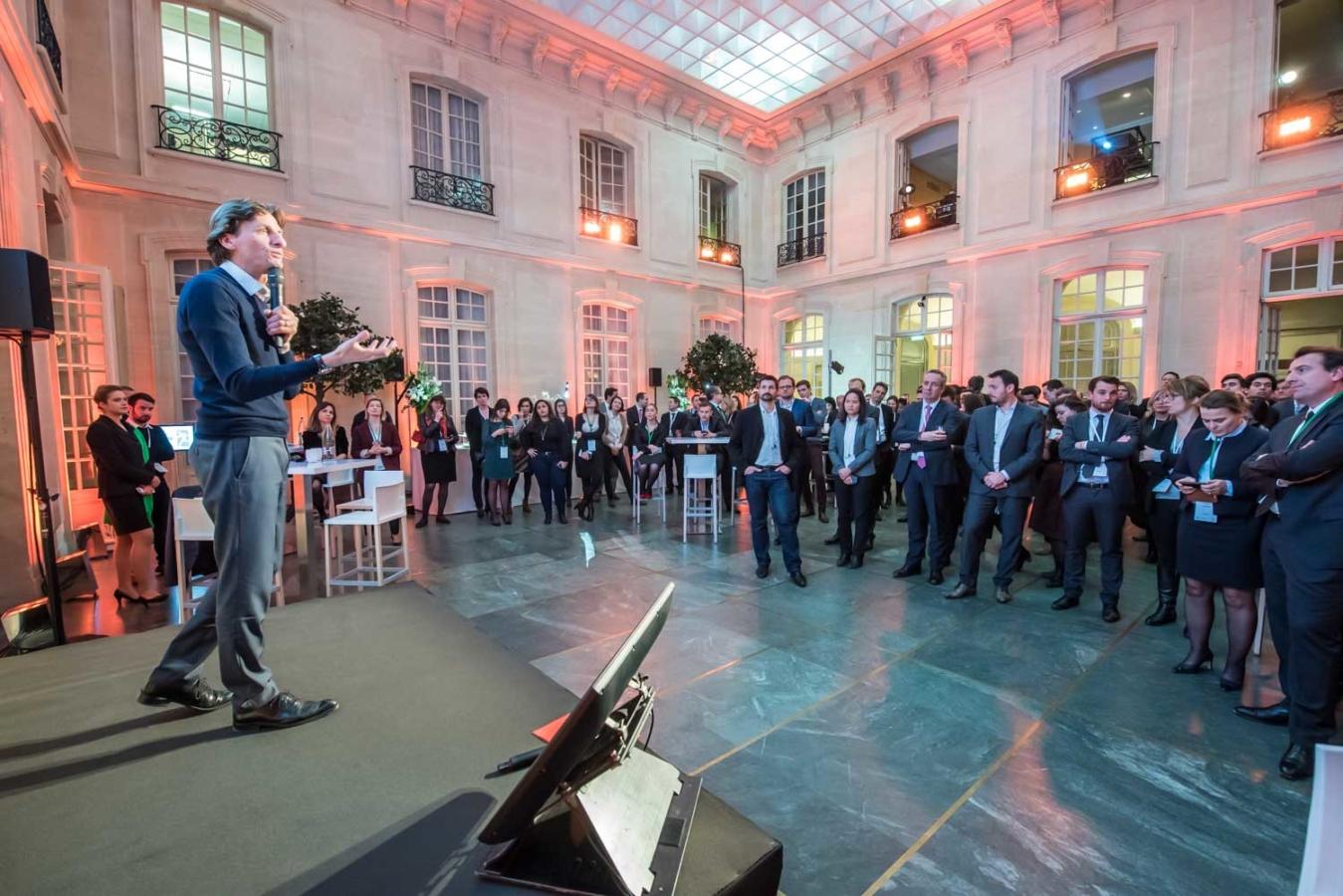 Reportage photographique évènementiel, réalisé en commande pour BNP Parisbas, à l'occasion de la soirée des ambassadeurs