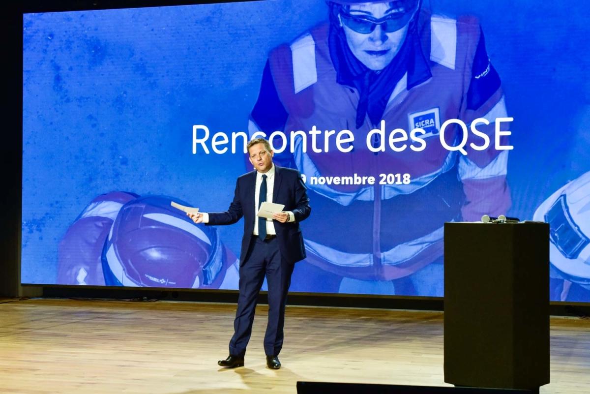 Reportage photographique évènementiel pour Vinci Construction France