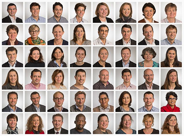 Portraits corporate pour Dreyfus