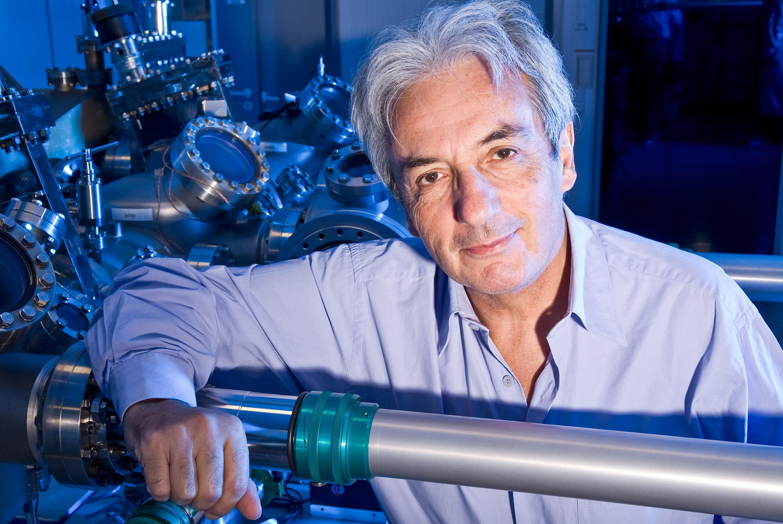 Le physicien Albert Fert Prix Nobel de physique. CNRS-Thalès