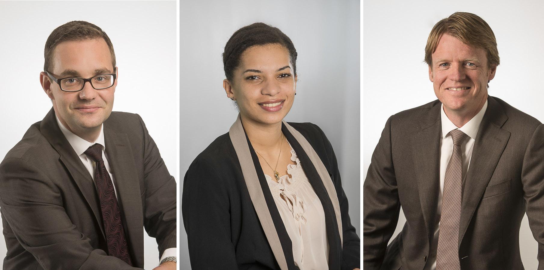Portraits corporate des cadres et porte paroles de la société de location de vehicules Enterprise