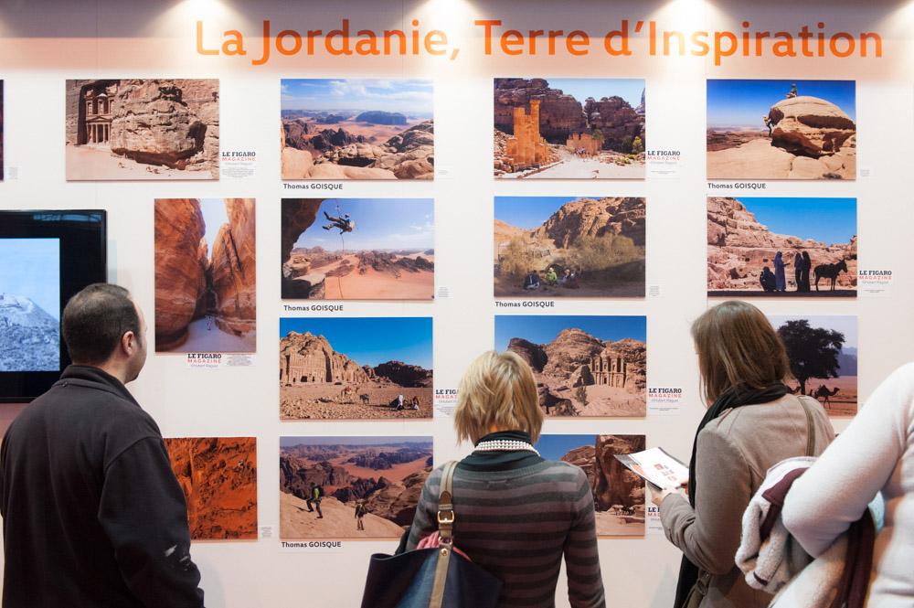 Exposition des photographies du reportage sur Pétra au Salon de la Photo 2012