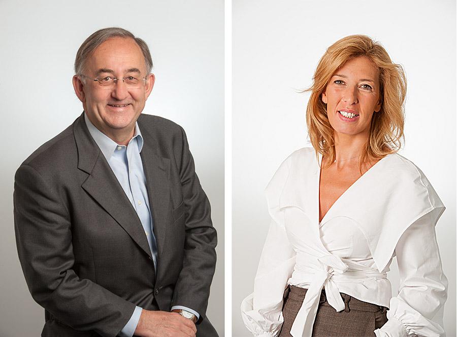 Portraits corporate de 7 membres du comité de direction de Hewlett Packard France. Ces photographies ont été réalisées dans les locaux de l'entreprise après installation d'un studio portable.
